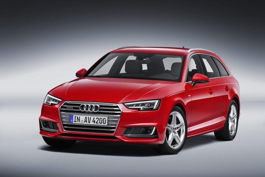 2016 B9 Audi A4 revealed – familiar looks, new tech Image #384194