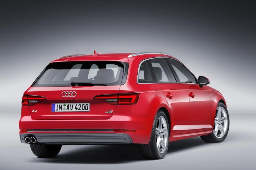 2016 B9 Audi A4 revealed – familiar looks, new tech Image #384195