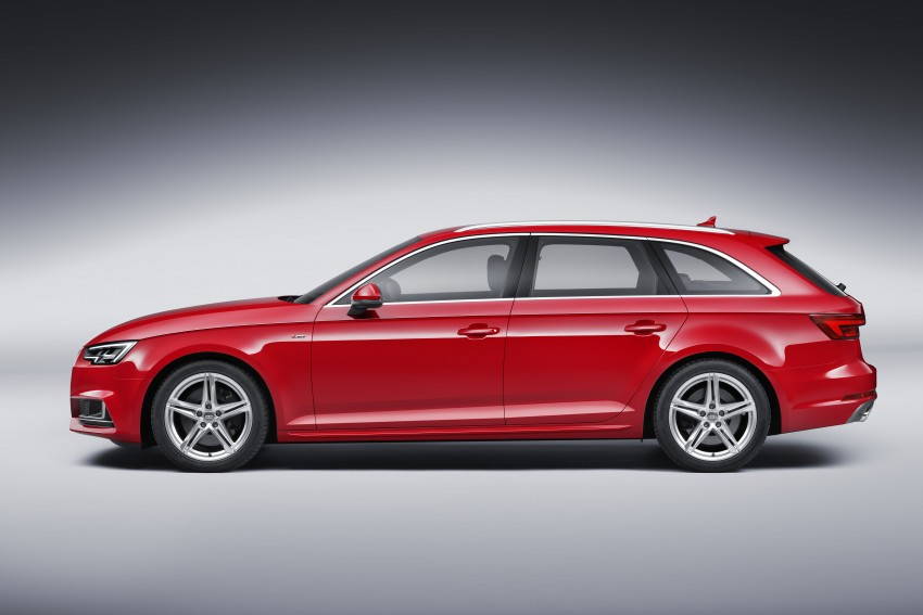 2016 B9 Audi A4 revealed – familiar looks, new tech Image #384196
