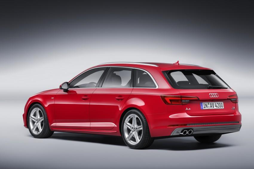 2016 B9 Audi A4 revealed – familiar looks, new tech Image #384198