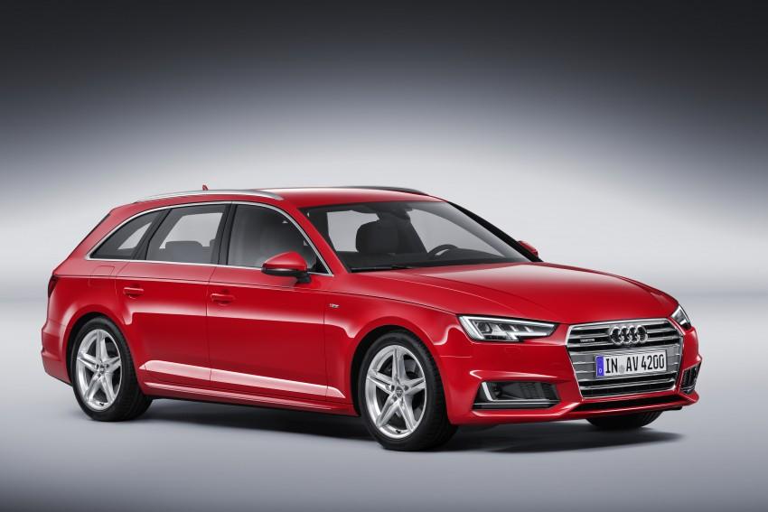 2016 B9 Audi A4 revealed – familiar looks, new tech Image #384199