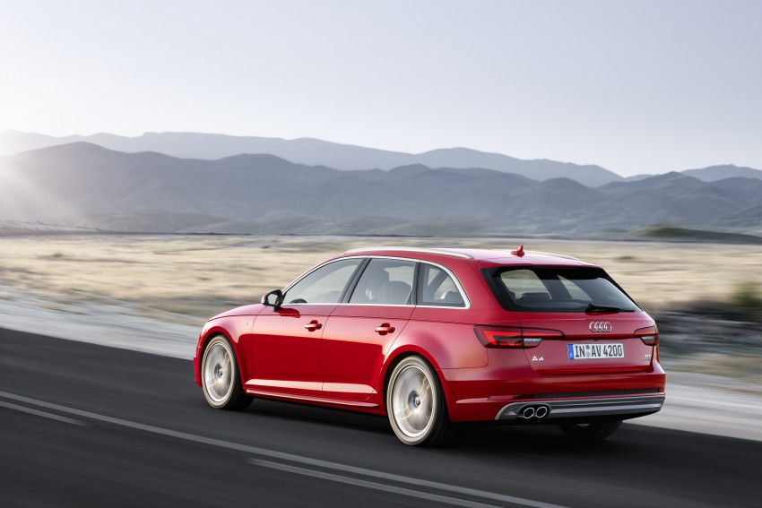 2016 B9 Audi A4 revealed – familiar looks, new tech Image #384201