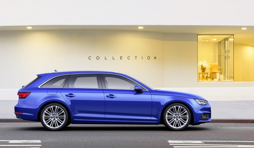 2016 B9 Audi A4 revealed – familiar looks, new tech Image #384202