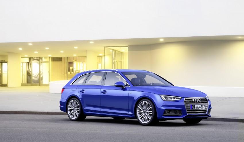 2016 B9 Audi A4 revealed – familiar looks, new tech Image #384205