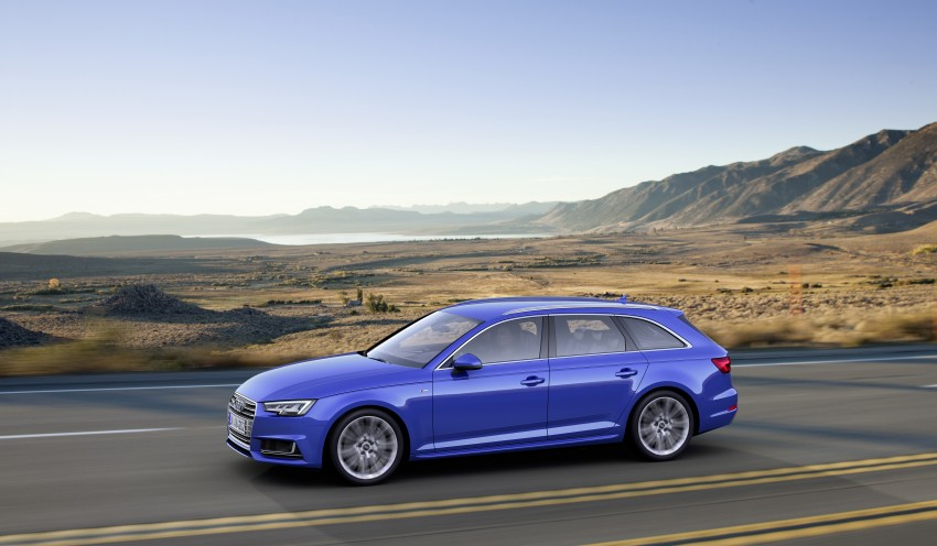2016 B9 Audi A4 revealed – familiar looks, new tech Image #384207