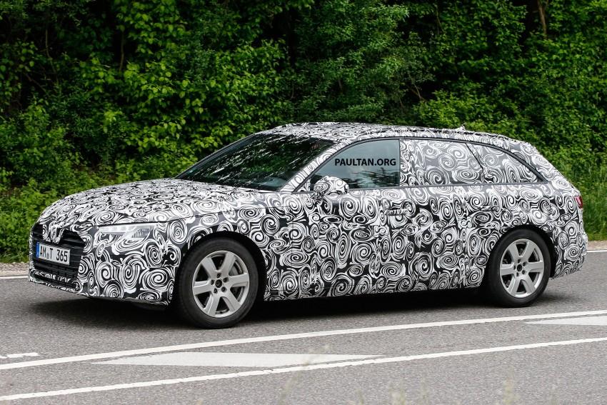 SPYSHOTS: B9 Audi A4 Avant peels back the camo Image #347856
