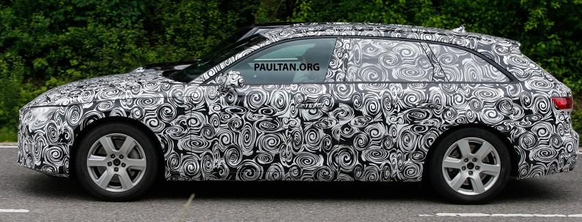 SPYSHOTS: B9 Audi A4 Avant peels back the camo Image #347857