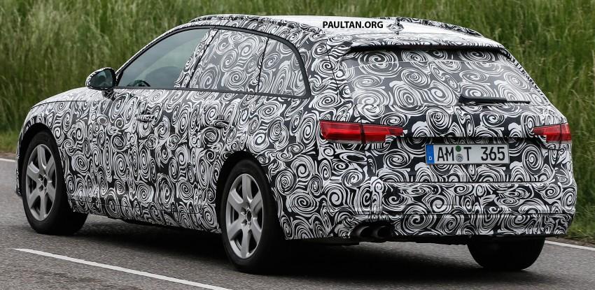 SPYSHOTS: B9 Audi A4 Avant peels back the camo Image #347860