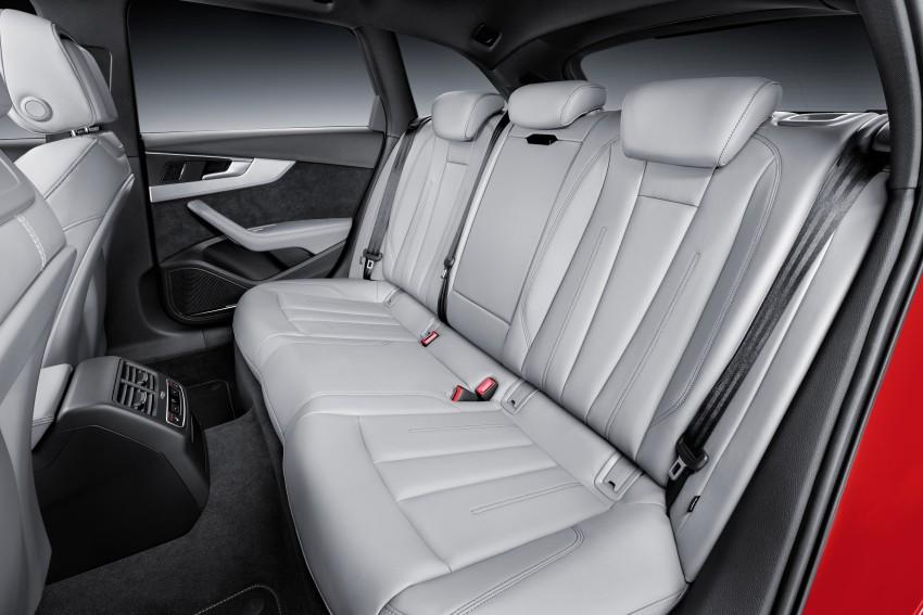 2016 B9 Audi A4 revealed – familiar looks, new tech Image #354996