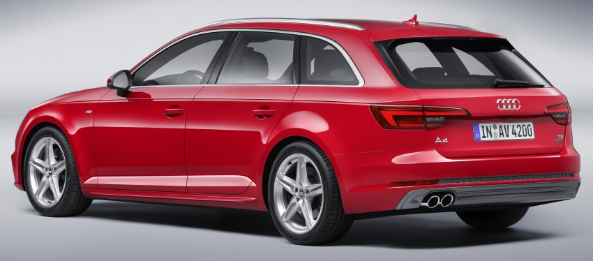 2016 B9 Audi A4 revealed – familiar looks, new tech Image #355004