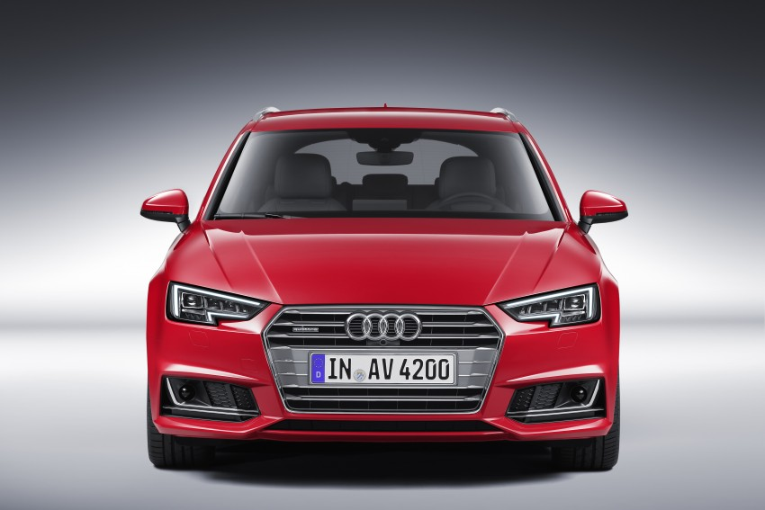 2016 B9 Audi A4 revealed – familiar looks, new tech Image #355005