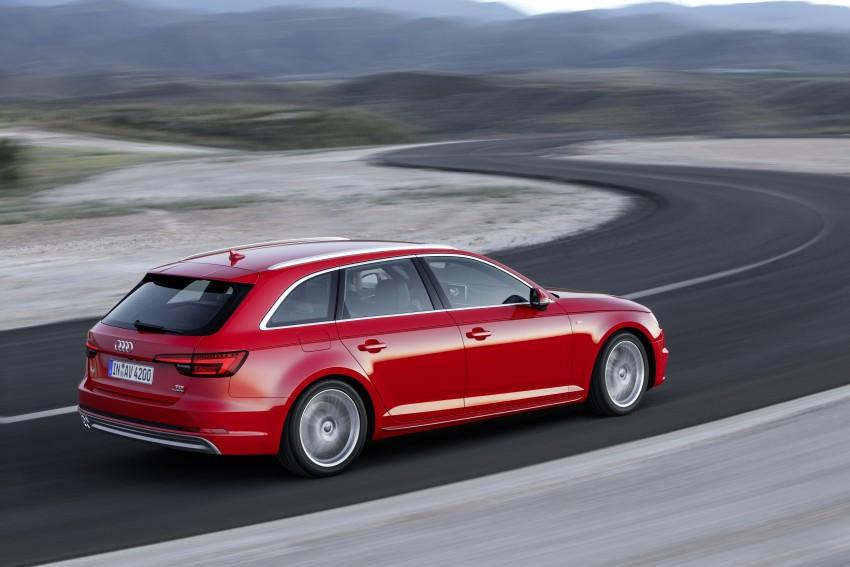 2016 B9 Audi A4 revealed – familiar looks, new tech Image #355010