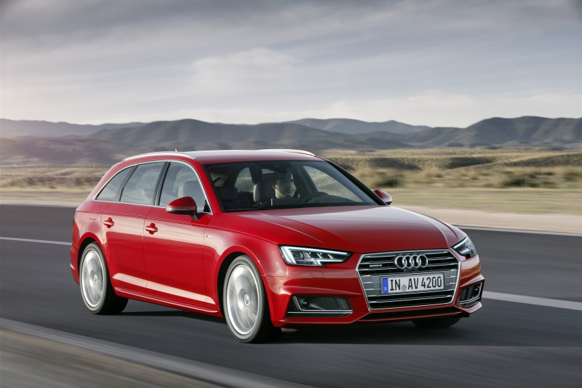2016 B9 Audi A4 revealed – familiar looks, new tech Image #355011