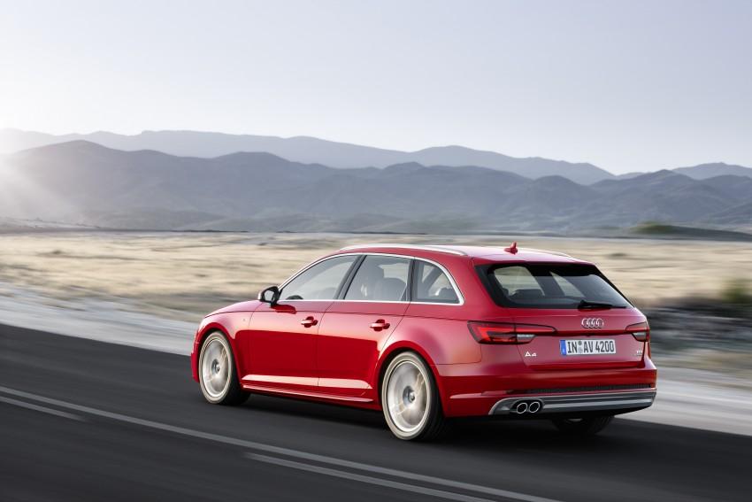 2016 B9 Audi A4 revealed – familiar looks, new tech Image #355012