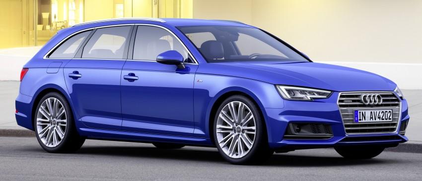 2016 B9 Audi A4 revealed – familiar looks, new tech Image #355013
