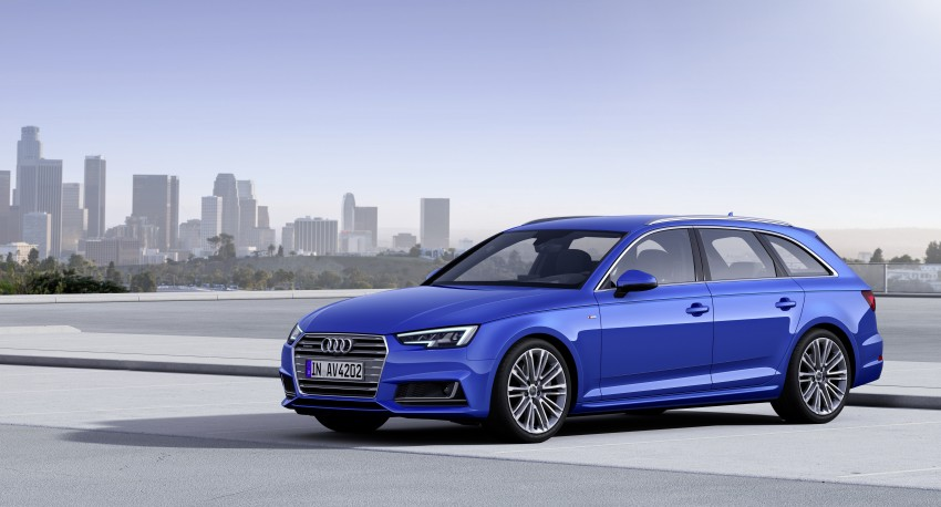2016 B9 Audi A4 revealed – familiar looks, new tech Image #355016