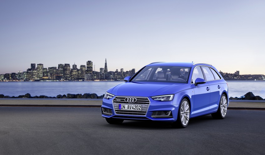 2016 B9 Audi A4 revealed – familiar looks, new tech Image #355017