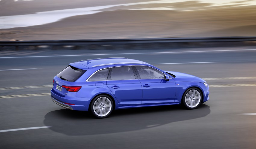 2016 B9 Audi A4 revealed – familiar looks, new tech Image #355018