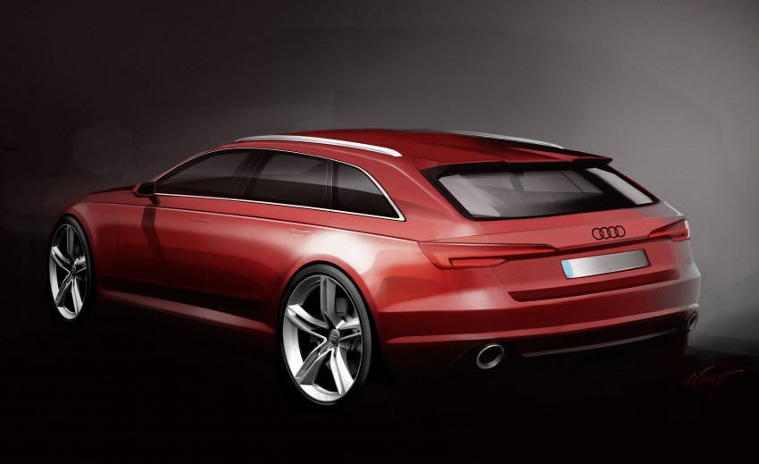 2016 B9 Audi A4 revealed – familiar looks, new tech Image #355021