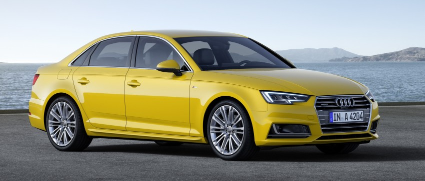 2016 B9 Audi A4 revealed – familiar looks, new tech Image #354961