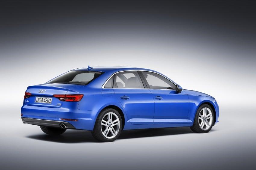 2016 B9 Audi A4 revealed – familiar looks, new tech Image #354964
