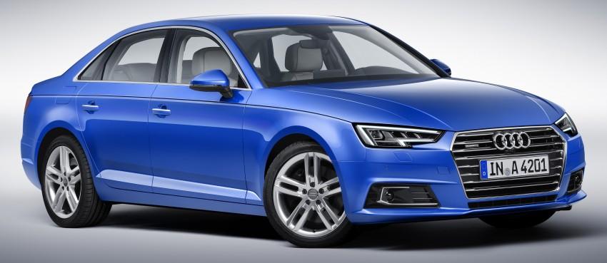 2016 B9 Audi A4 revealed – familiar looks, new tech Image #354966