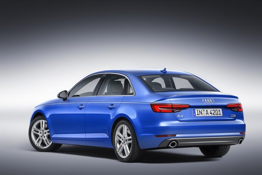 2016 B9 Audi A4 revealed – familiar looks, new tech Image #354967