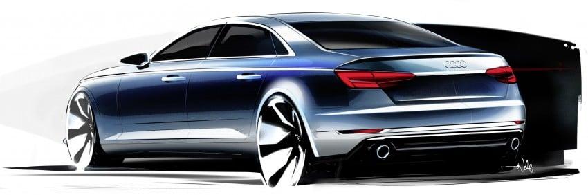 2016 B9 Audi A4 revealed – familiar looks, new tech Image #354973