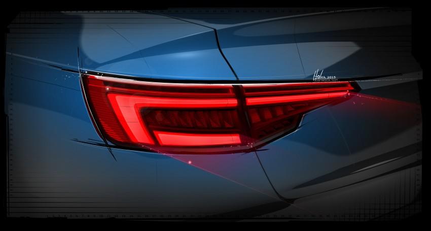 2016 B9 Audi A4 revealed – familiar looks, new tech Image #354975