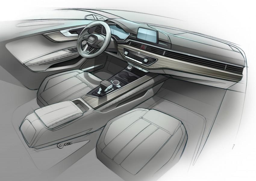 2016 B9 Audi A4 revealed – familiar looks, new tech Image #354976