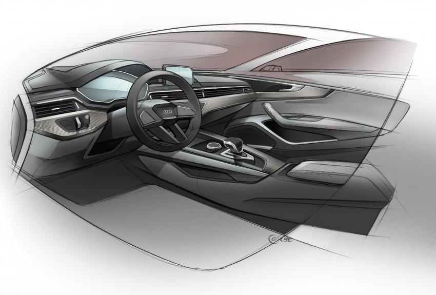 2016 B9 Audi A4 revealed – familiar looks, new tech Image #354977