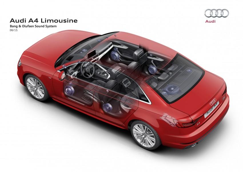 2016 B9 Audi A4 revealed – familiar looks, new tech Image #354981