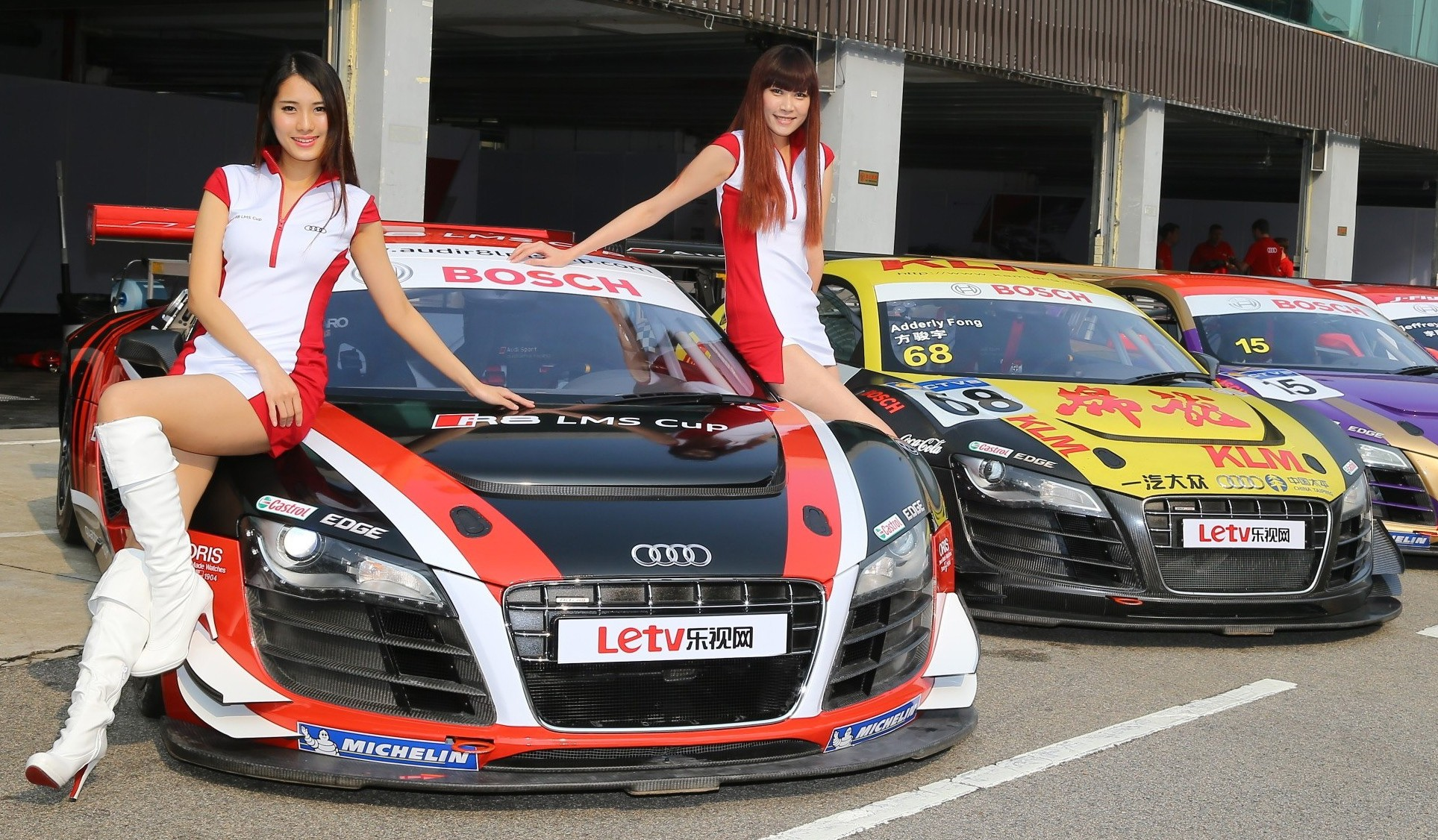 Kl City Grand Prix V8 Supercars Audi R8 Lms Cup