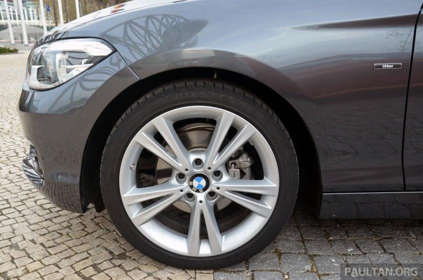 DRIVEN: BMW 1 Series facelift in Lisbon – 120d, M135i Image #348795