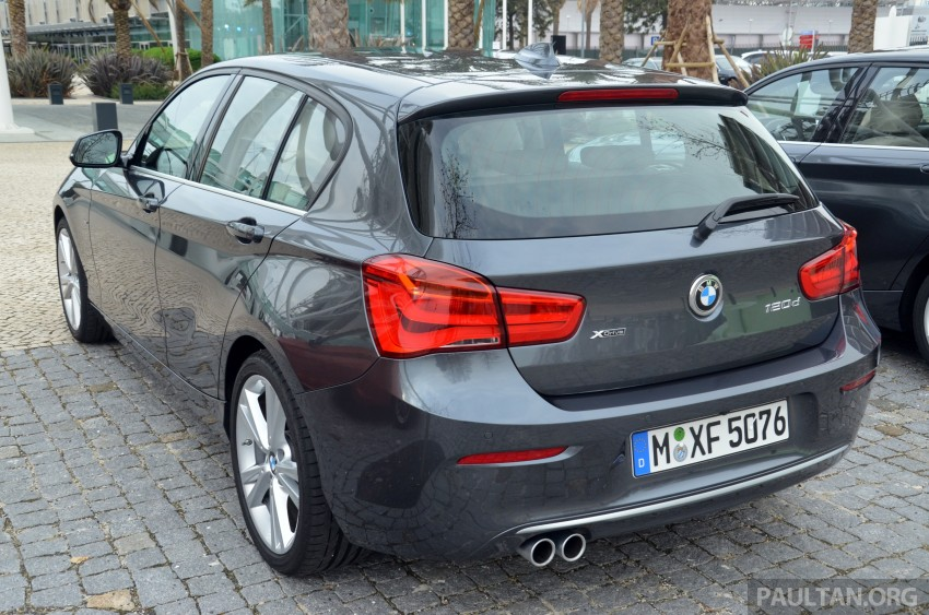 DRIVEN: BMW 1 Series facelift in Lisbon – 120d, M135i Image #348797