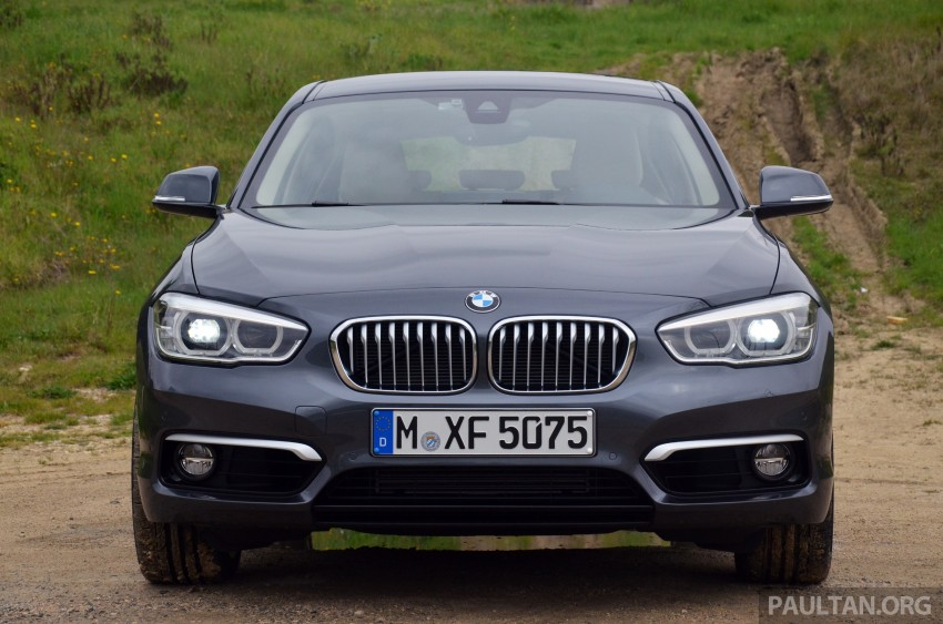 DRIVEN: BMW 1 Series facelift in Lisbon – 120d, M135i Image #348802