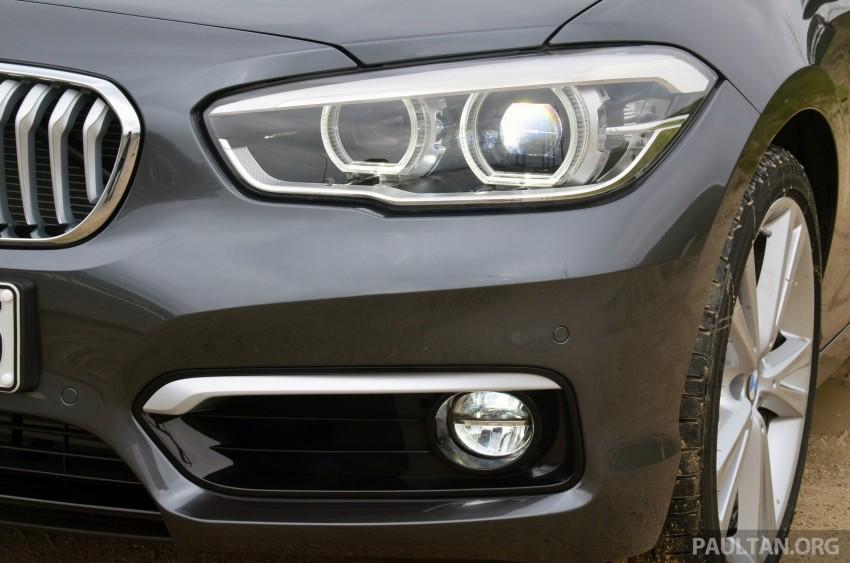 DRIVEN: BMW 1 Series facelift in Lisbon – 120d, M135i Image #348803