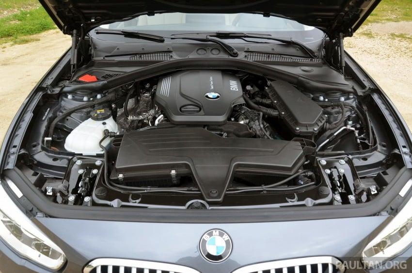 DRIVEN: BMW 1 Series facelift in Lisbon – 120d, M135i Image #348807
