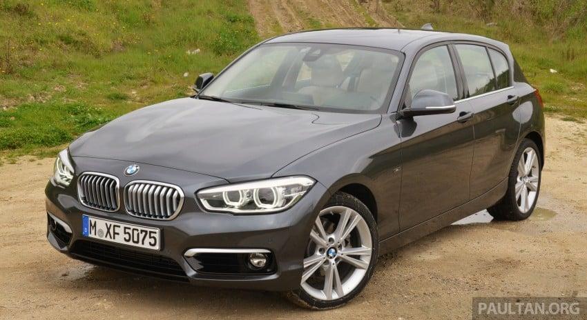 DRIVEN: BMW 1 Series facelift in Lisbon – 120d, M135i Image #348808