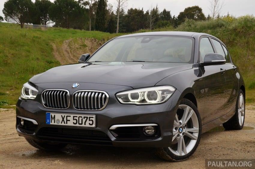 DRIVEN: BMW 1 Series facelift in Lisbon – 120d, M135i Image #348809