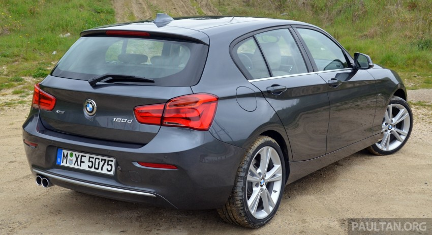 DRIVEN: BMW 1 Series facelift in Lisbon – 120d, M135i Image #348811