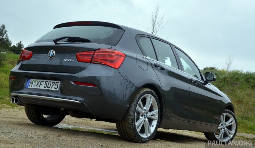DRIVEN: BMW 1 Series facelift in Lisbon – 120d, M135i Image #348812