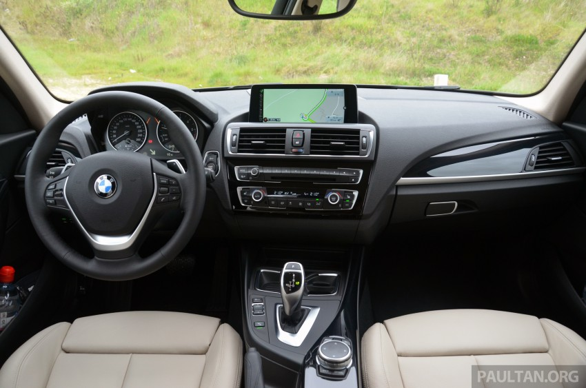 DRIVEN: BMW 1 Series facelift in Lisbon – 120d, M135i Image #348819