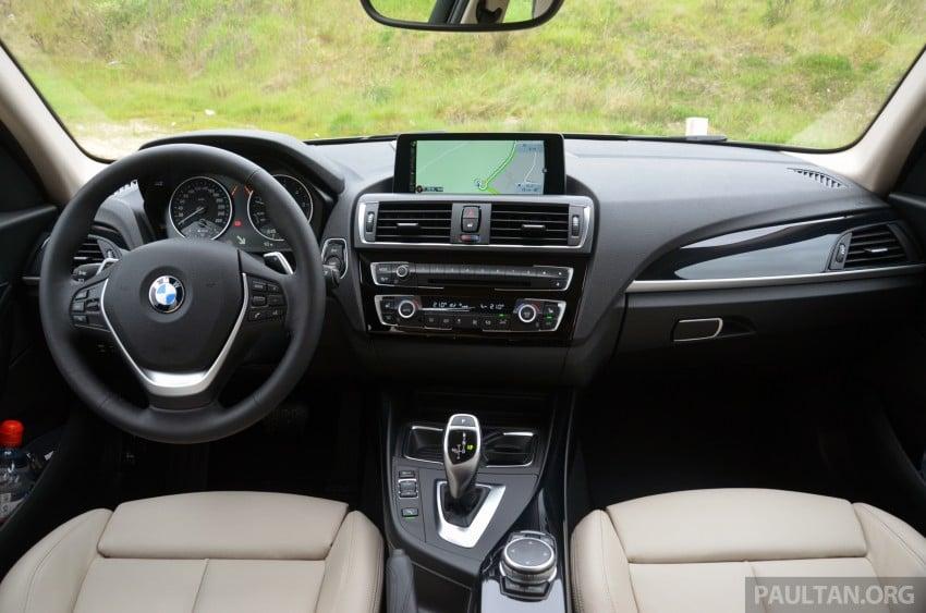 DRIVEN: BMW 1 Series facelift in Lisbon – 120d, M135i Image #348819