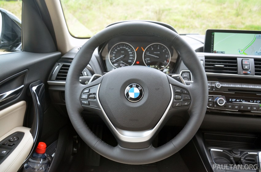 DRIVEN: BMW 1 Series facelift in Lisbon – 120d, M135i Image #348820