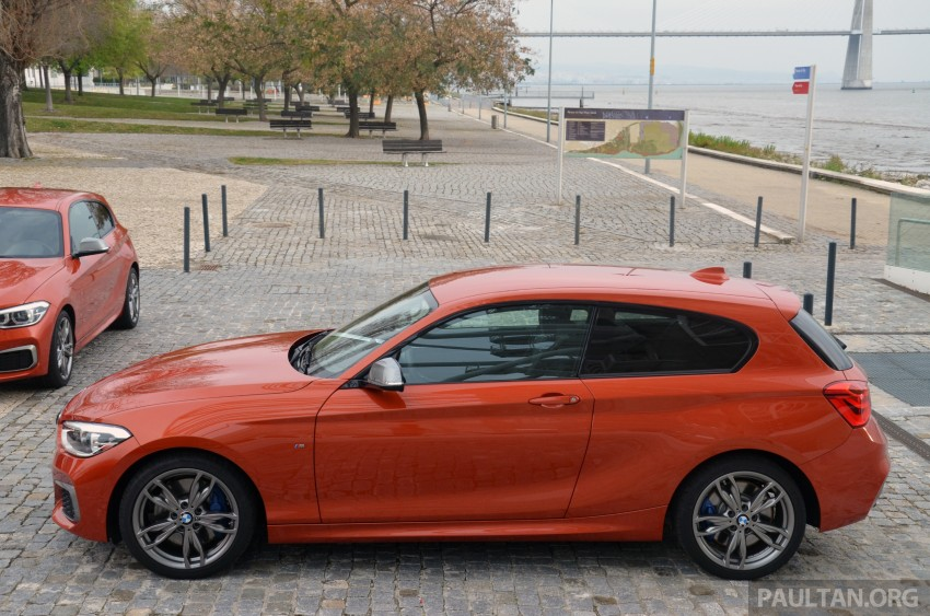 DRIVEN: BMW 1 Series facelift in Lisbon – 120d, M135i Image #348825
