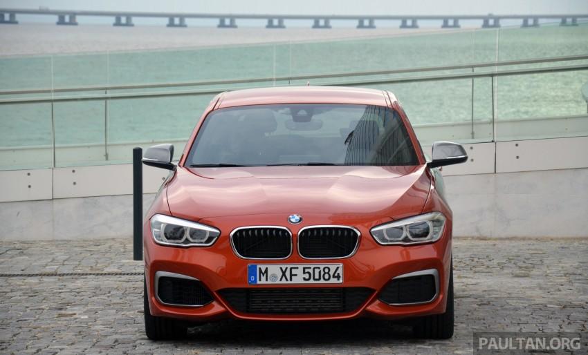 DRIVEN: BMW 1 Series facelift in Lisbon – 120d, M135i Image #348828