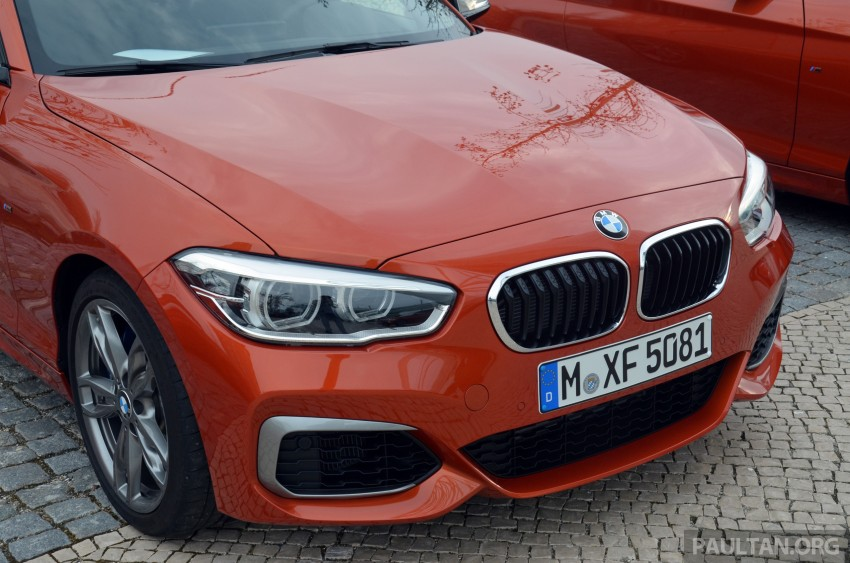 DRIVEN: BMW 1 Series facelift in Lisbon – 120d, M135i Image #348829