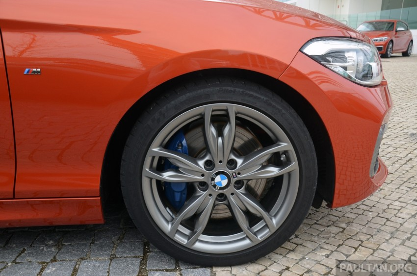 DRIVEN: BMW 1 Series facelift in Lisbon – 120d, M135i Image #348830