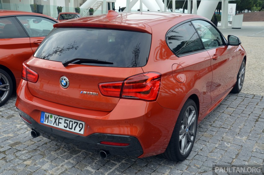 DRIVEN: BMW 1 Series facelift in Lisbon – 120d, M135i Image #348832